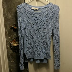 Light blue Ann Taylor Loft Sweater